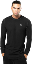 Better Bodies Harlem Thermal L/S, black, xlarge Sweatshirt herr