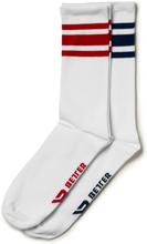 Better Bodies Brooklyn Socks, 2-pack, navy/red, xxlarge Strumpor unisex