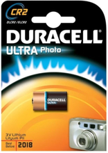 Duracell Photo Ultra CR2 Lithium Batteri - 1 stk.