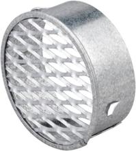 Duka ventilationsgaller, galvaniserat - Ø 76 mm
