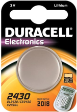 Duracell Electronics CR2430 Lithium Batteri - 1 stk.