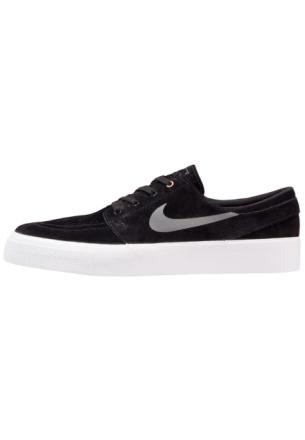 Nike SB ZOOM STEFAN JANOSKI PREM HT Joggesko black/dark grey/metalcli gold/white