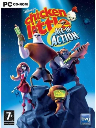 Chicken Little: Ace in Action - Windows - Toiminta