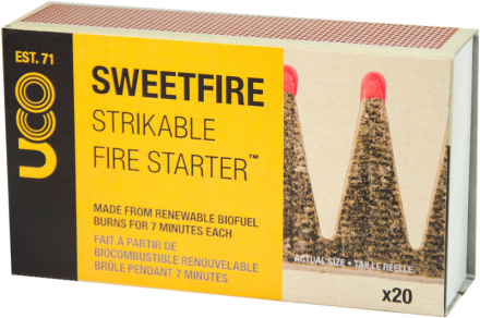 UCO SweetFire brun 2019 Lightere