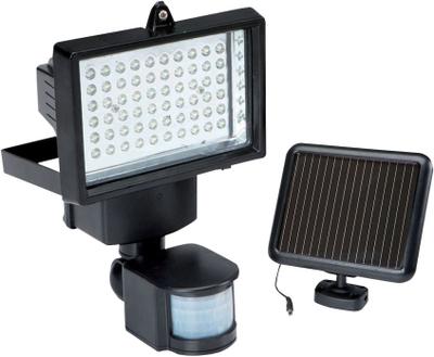 60 LED Solar Pir Motion Sensor säkerhet strålkasta