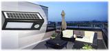 mygarden 36 LED triangel ljusa dimbara utomhus sol