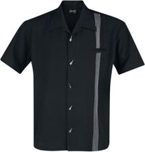 Steady Clothing - The Six String -Kortermet skjorte - svart