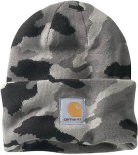 Carhartt Camo se Hat-solid grå Camo vrborden strikkes Hat Carhartt ...