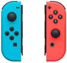 Trådløs Gamepad Nintendo Joy-Con Blå Rød
