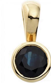 MyAngels Safir safir hängande taklampa 333 guld gul guld 1 blå safir
