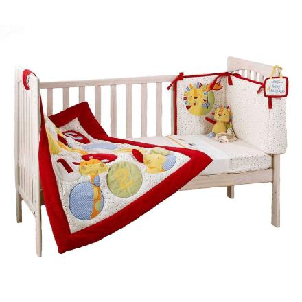 Suncrest Jolly Jamboree 5 stykke Cot sengetøj sæt - Fruugo