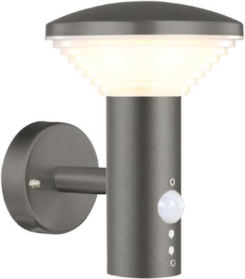 Luxform® Vägglampa Bitburg + PIR-sensor
