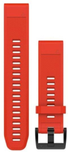 QuickFit™ 22 Watch Band Red Silicone