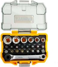 1/4-Inch Socket and Screwdriver Set DT71516 24 pcs