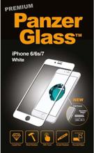 Apple iPhone 6/6s/7/8 - White (Premium Glass)