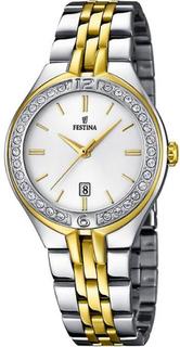Festina klocka Miss F16868-1 - klocka stål Silver kvinna