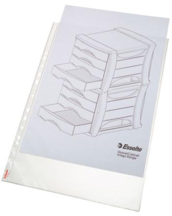 Plastlomme Esselte A3 0,085mm hul lang side premium 10stk/pak - Engsig.dk