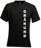 T-Shirt Med Tryck (M,Lodrät