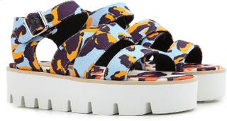 MSGM kilar sandaler skor i multicolor tyg Flerfärgade 37