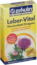 Zirkulin Leber-Vital Mariendisteldragees 60 St Dragees
