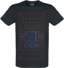 Nintendo - Super Mario Bullet Bill -T-skjorte - svart, rød