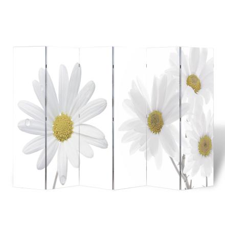 vidaXL Romdeler 240 x 180 Blomst bilde