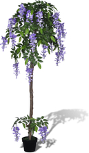 vidaXL Konstväxt Blåregn med kruka 160 cm