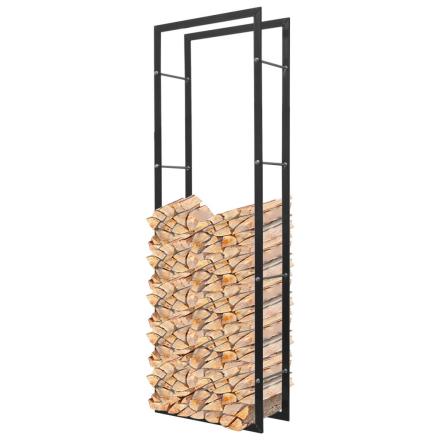 vidaXL Rektangulær Brændeholder 150 cm