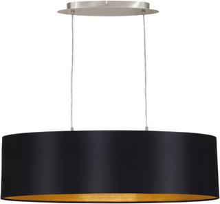EGLO LED Pendel Lampe Maserlo 78 cm Sort 31611