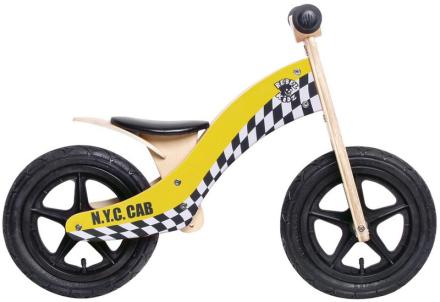 """Rebel Kidz Wood Air Lapset potkupyörä 12"""" Taxi , keltainen 12"""" 2017 Lasten kulkuneuvot"""