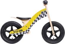"""Rebel Kidz Wood Air Lapset potkupyörä 12"""" , keltainen 12"""" 2019 Lasten kulkuneuvot"""