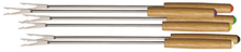 Ronneby Bruk Fondue-gafflar, träskaft, 6-pack