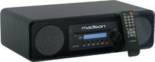 Minianläggning med Bluetooth, FM, CD och USB - Svart