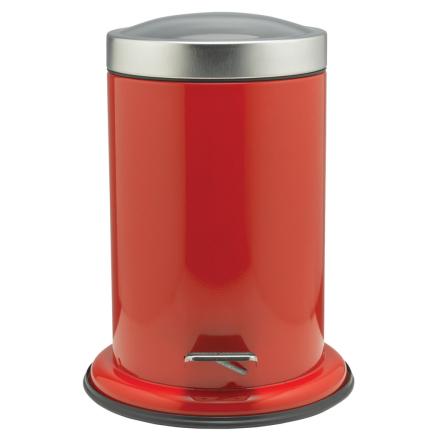 Sealskin Acero Søppelbøtte med pedal rød 3 L 361732410