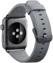 Leather band Apple watch - Grey