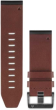 QuickFit™ 26 Watch Band Brown Leather