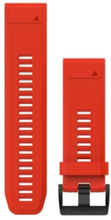QuickFit™ 26 Watch Band Red Silicone