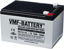 VMF AGM Dybcyklisk Batteri 12 V 12 Ah DC12-12