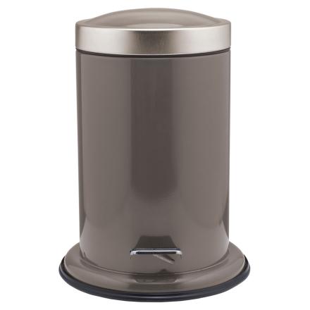Sealskin Acero Søppelbøtte med pedal gråbrun 3 L 361732410