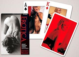 Signs Unique Erotikk sett med 52 (+ jokere) spillkort