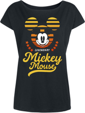 Mickey Mouse - California -T-skjorte - svart