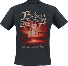 Bodom After Midnight - Paint The Sky With Blood -T-skjorte - svart