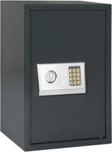 vidaXL Digital safe mørkegrå 40x35x60 cm