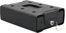 vidaXL Bilsafe svart 21,8x16x7 cm stål