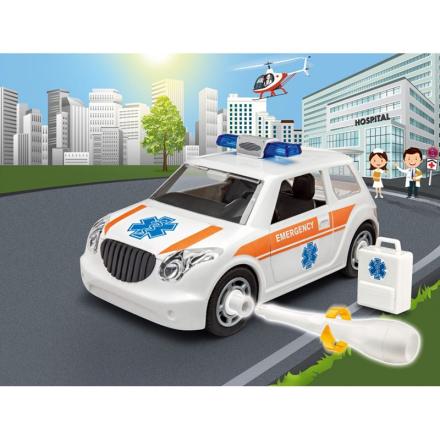 Revell Junior Kit, Ambulance 1:20 - Lekmer