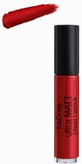 Isadora Ultra Matte Liquid Lipstick Red Romance