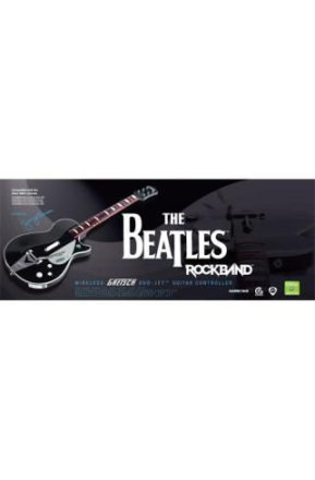 Rock Band: The Beatles Wireless Gretsch Duo Jet Guitar /Xbox 360