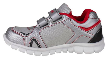 Spiderman sneakers, grå/rød - TheFairytaleCompany