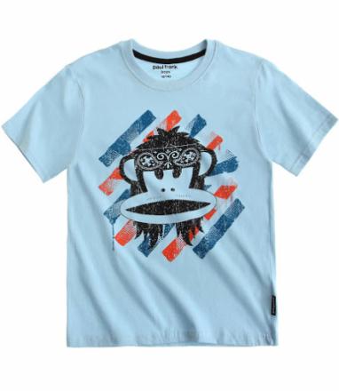 PAUL FRANK, kortærmet t-shirt, hvid - TheFairytaleCompany