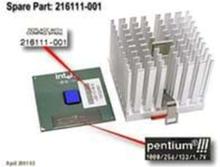 Intel Pentium III processor CPU - 1 GHz -